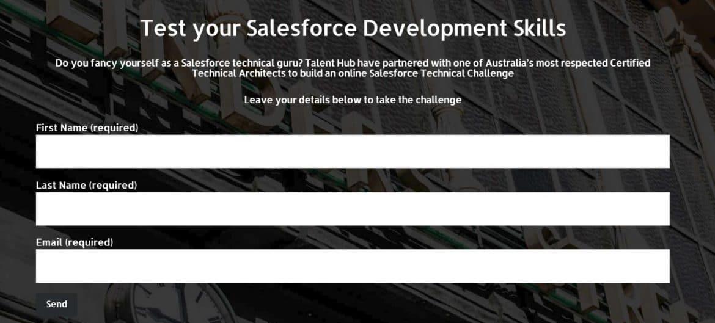 Talent Hub's Salesforce technical test - Talent Hub