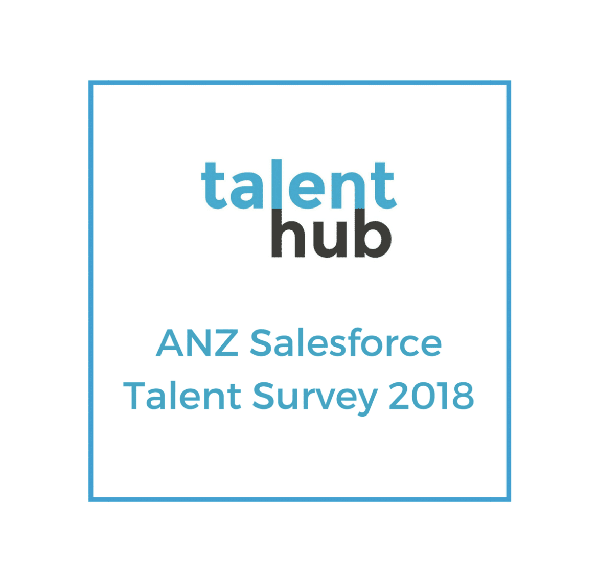 ANZ Salesforce Talent Survey 2018